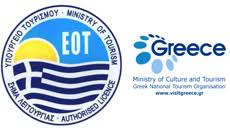 Authorised by the greek national ministry of Tourism