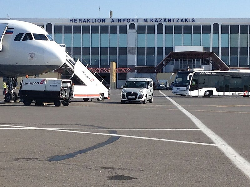 Rent a car in Heraklion Airport