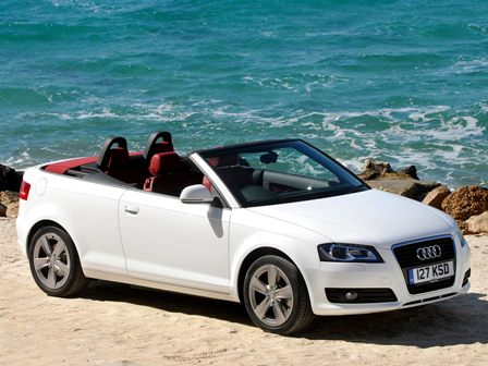 rent audi a3 cabriolet chania airport